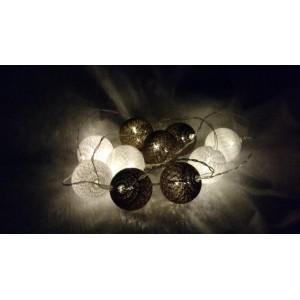 Oświetlenie cotton balls RÓŻNE KOLORY