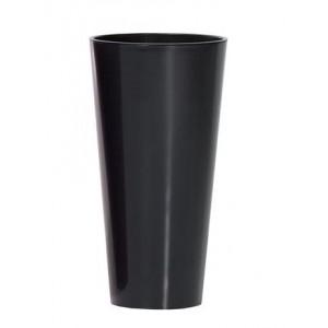Doniczka Tubus slim shine 150S-7502U PROSPERPLAST